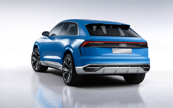 2017 Audi Q8 Concept Auto Poster HD Wallpaper 01 Views:1483