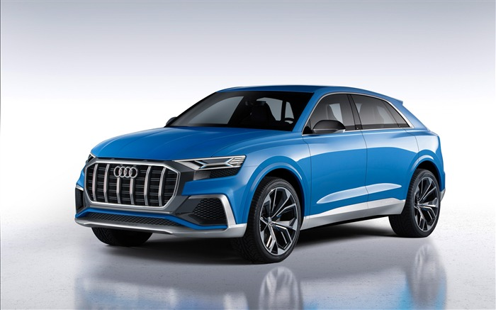2017 Audi Q8 Concept Auto Poster HD Wallpaper 02 Views:1624