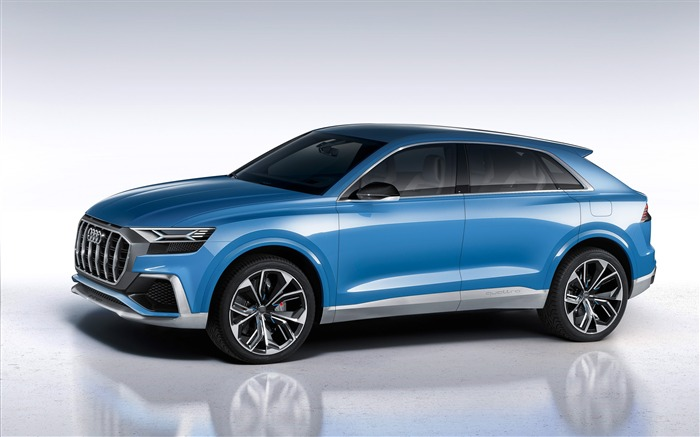 2017 Audi Q8 Concept Auto Poster HD Wallpaper 03 Views:1391