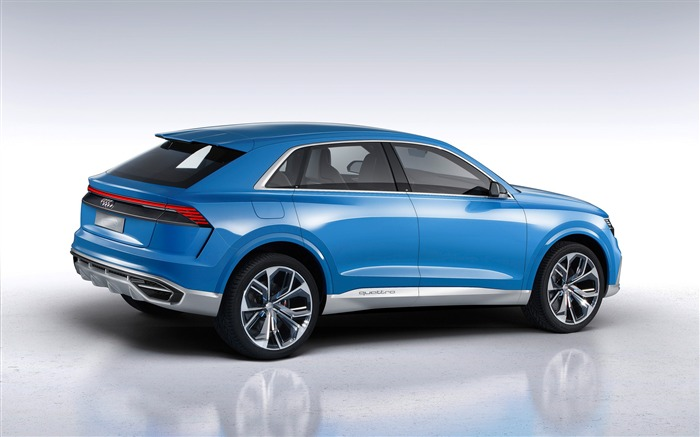 2017 Audi Q8 Concept Auto Poster HD Wallpaper 04 Views:1169
