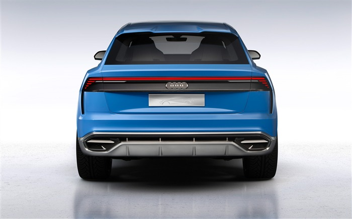 2017 Audi Q8 Concept Auto Poster HD Wallpaper 05 Views:1189