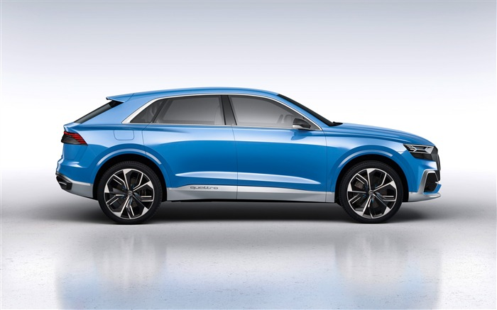 2017 Audi Q8 Concept Auto Poster HD Wallpaper 06 Views:1418
