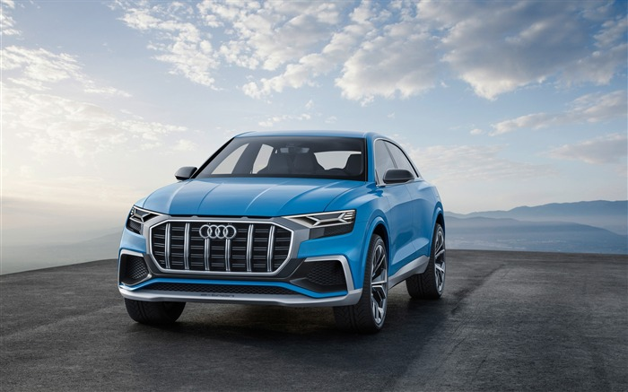 2017 Audi Q8 Concept Auto Poster HD Wallpaper 07 Views:1585