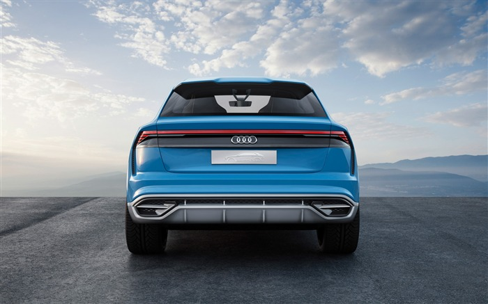 2017 Audi Q8 Concept Auto Poster HD Wallpaper 08 Views:1459
