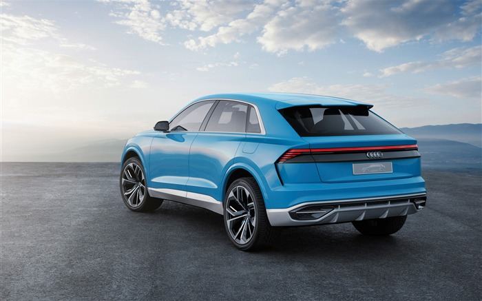 2017 Audi Q8 Concept Auto Poster HD Wallpaper 09 Views:1710