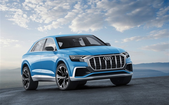 2017 Audi Q8 Concept Auto Poster HD Wallpaper 10 Views:1451