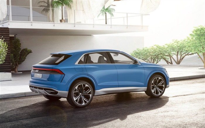 2017 Audi Q8 Concept Auto Poster HD Wallpaper 11 Views:1556