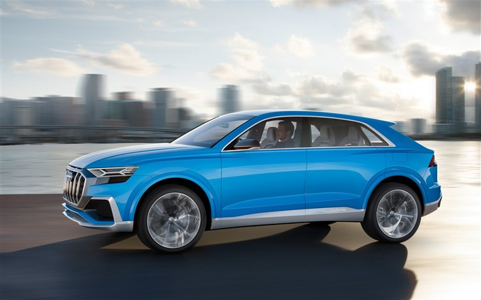 2017 Audi Q8 Concept Auto Poster HD Wallpaper 12 Views:1471