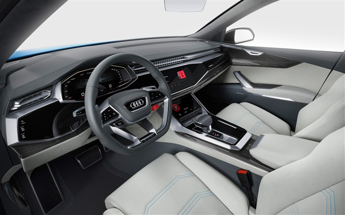 2017 Audi Q8 Concept Auto Poster HD Wallpaper 15 Views:1625