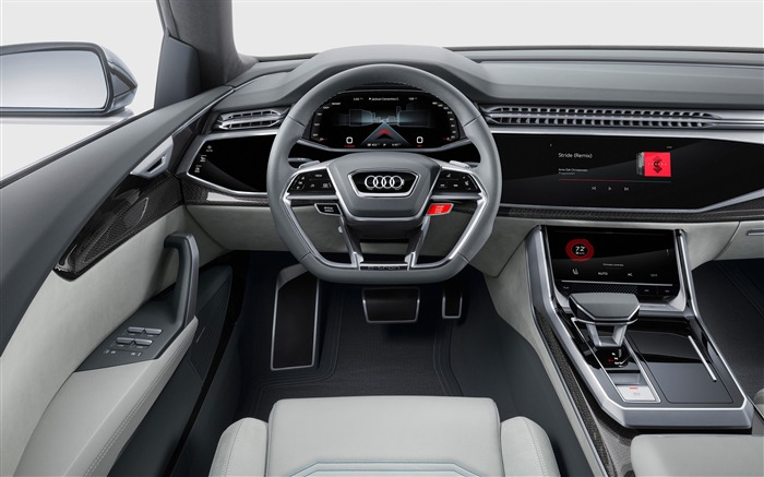 2017 Audi Q8 Concept Auto Poster HD Wallpaper 17 Views:1177