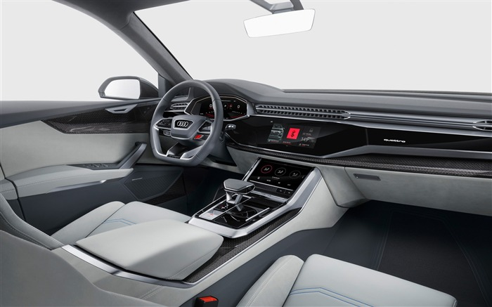 2017 Audi Q8 Concept Auto Poster HD Wallpaper 19 Views:996