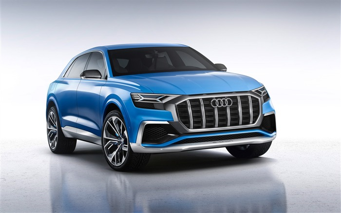 2017 Audi Q8 Concept Auto Poster HD Desktop Wallpaper Views:6801