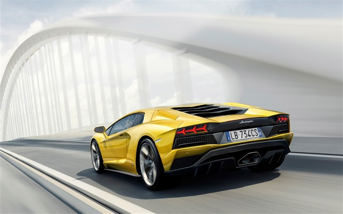 2017 Lamborghini Aventador S Car HD Wallpaper 02 Views:3042 Date:1/18/2017 5:18:27 AM