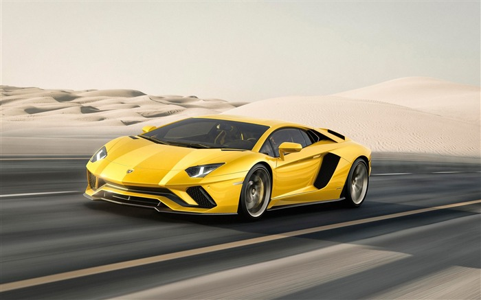 2017 Lamborghini Aventador S Car HD Wallpaper 04 Views:2795 Date:1/18/2017 5:19:23 AM