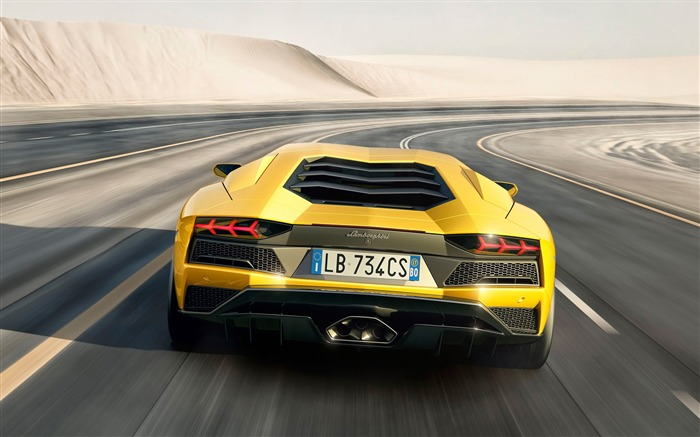2017 Lamborghini Aventador S Car HD Wallpaper 05 Views:2596 Date:1/18/2017 5:19:48 AM