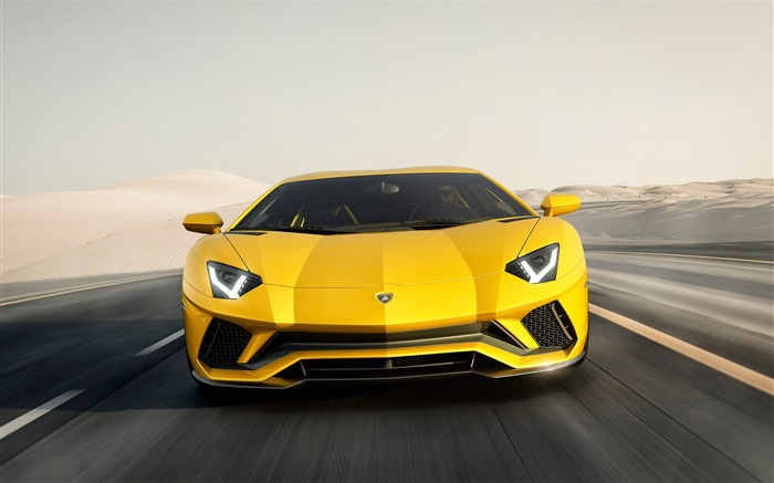 2017 Lamborghini Aventador S Car HD Wallpaper 06 Views:2985 Date:1/18/2017 5:20:18 AM