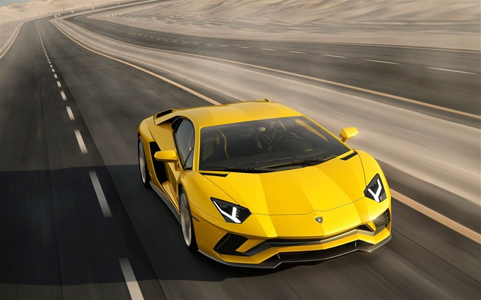 2017 Lamborghini Aventador S Car HD Wallpaper 07 Views:2982 Date:1/18/2017 5:20:43 AM