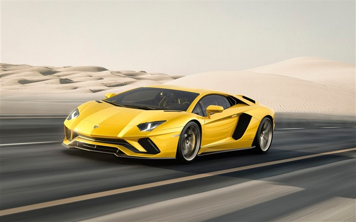 2017 Lamborghini Aventador S Car HD Wallpaper 08 Views:3160 Date:1/18/2017 5:21:29 AM