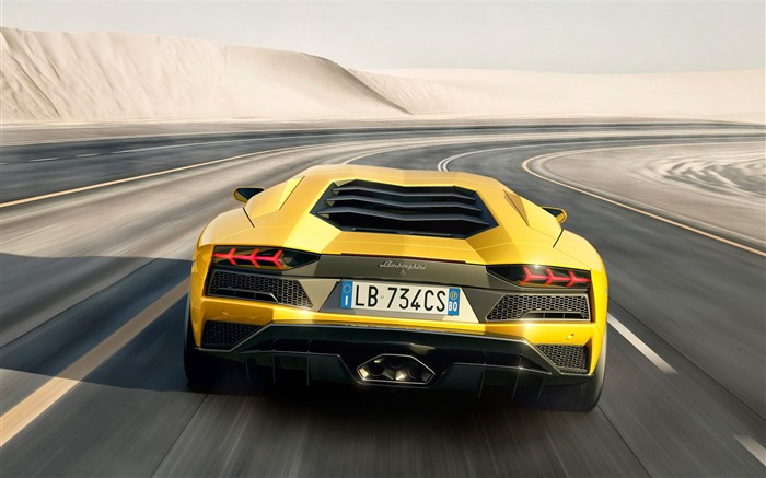 2017 Lamborghini Aventador S Car HD Wallpaper 09 Views:3312 Date:1/18/2017 5:21:56 AM