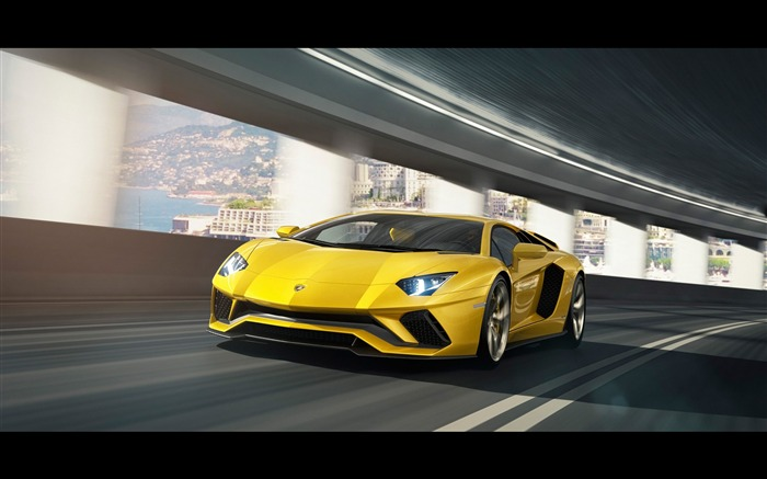 2017 Lamborghini Aventador S Car HD Wallpaper 14 Views:3209 Date:1/18/2017 5:24:32 AM