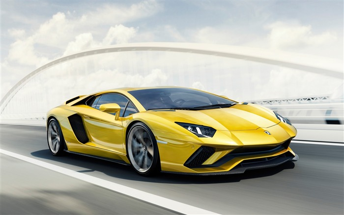 2017 Lamborghini Aventador S Car HD Wallpaper Views:3707