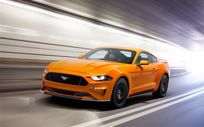 2018 Ford mustang sports car-2016 High Quality HD Wallpaper Views:1614