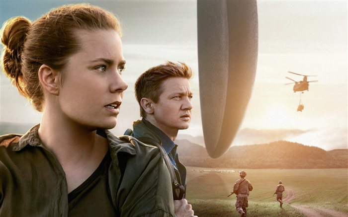 Arrival amy adams jeremy renner-2017 Movie HD Wallpaper Views:3091 Date:1/1/2017 1:18:11 AM