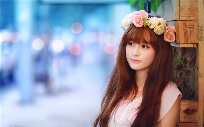 Chinese Youth Fashion Beauty Girls Photo Wallpaper Views:5030
