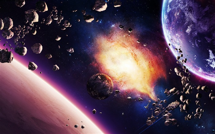 Digital Universe Space HD High Quality Wallpaper Views:3322