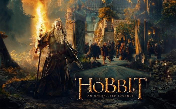 The hobbit unexpected journey-2016 High Quality HD Wallpaper Views:837