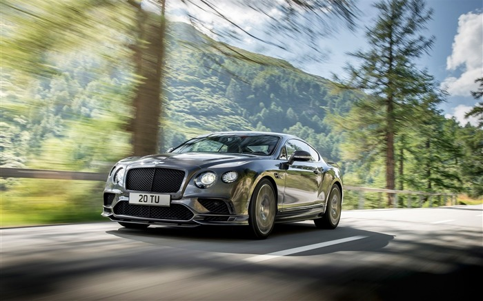 2017 Bentley Continental Supersports HD Wallpaper 01 Views:1090