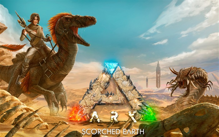 Ark scorched earth-2017 Game HD Wallpaper Views:2494