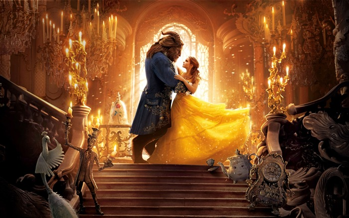 Beauty And The Beast 2017 Movies Poster HD Wallpaper Views:6307