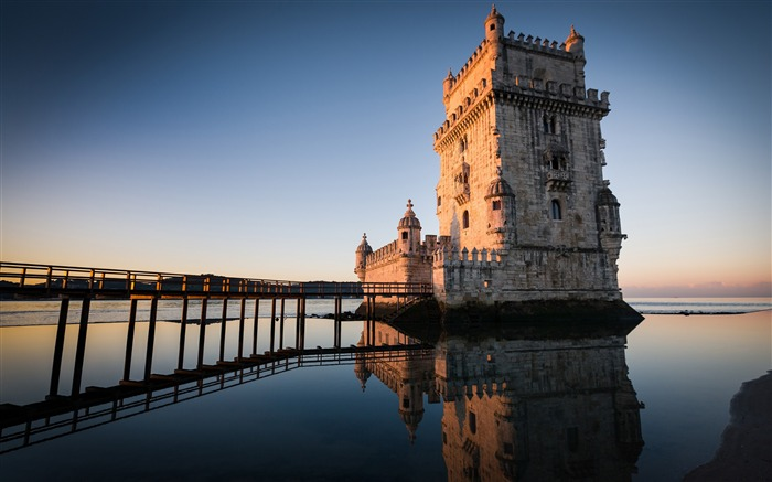 Belem tower in lisbon portugal-Nature HD Wallpaper Views:1813