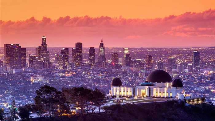 California Los Angeles Griffith Observatory-2017 Bing Desktop Wallpaper Views:900