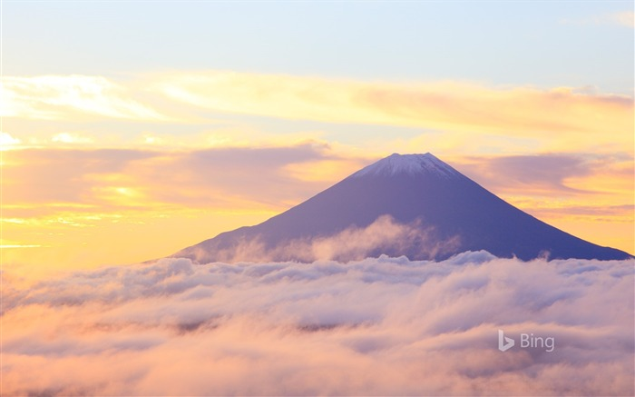 Fujisan Day-2017 Bing Desktop Wallpaper Views:1258