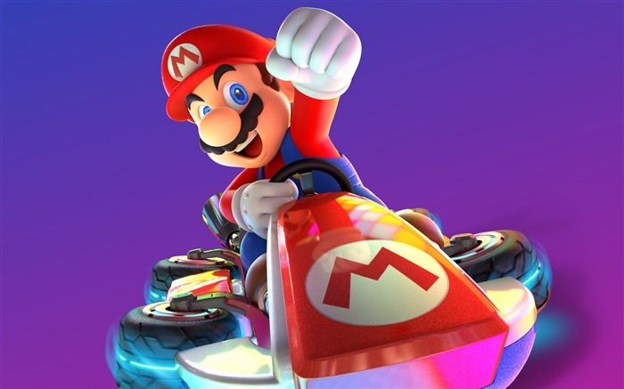 Mario kart 8 deluxe-2017 Game HD Wallpaper Views:1672