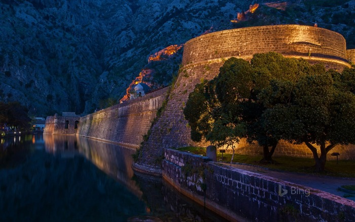 Montenegro The Fortifications of Kotor-2017 Bing Desktop Wallpaper Views:1219