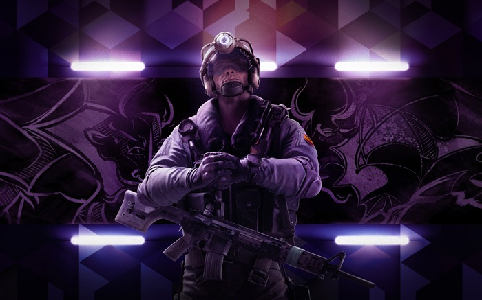 Rainbow six siege operation velvet shell-2017 Game HD Wallpaper Views:1454