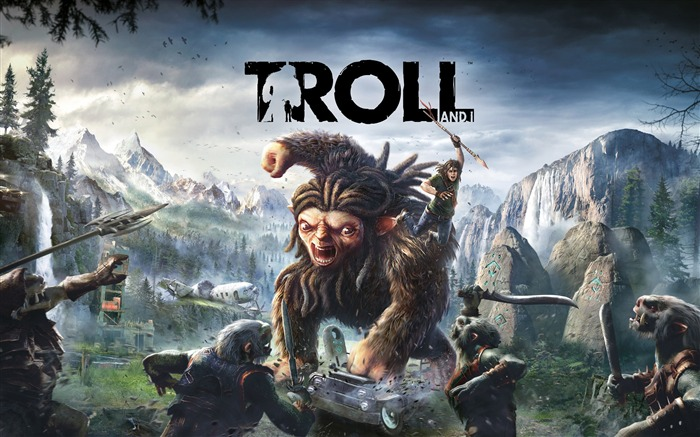 Troll and i-2017 Game HD Wallpapers Views:1449