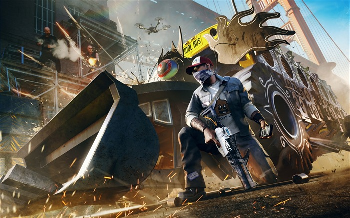 Watch dogs 2 t bone dlc-2017 Game HD Wallpapers Views:639