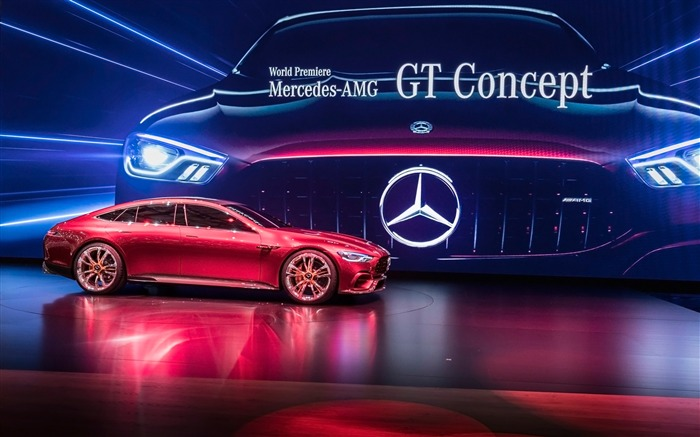 2017 Mercedes-AMG GT Concept HD Wallpaper Views:2386