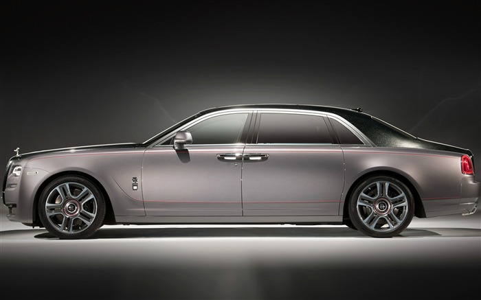 2017 Rolls Royce Ghost Extended-Brand Car HD Wallpaper Views:982