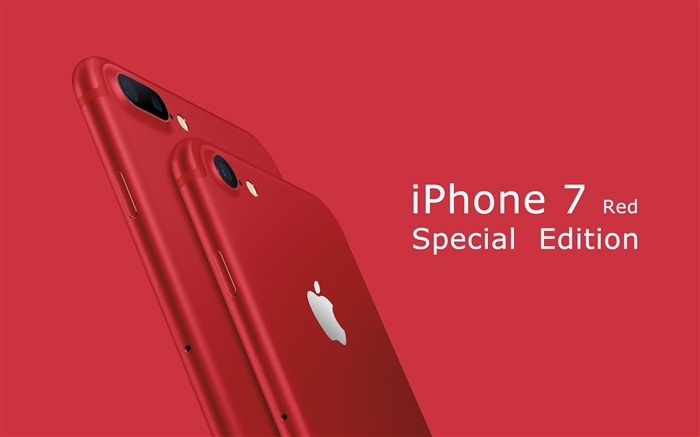 Apple 2017 iPhone 7 Red Special Edition HD Wallpaper Views:5159