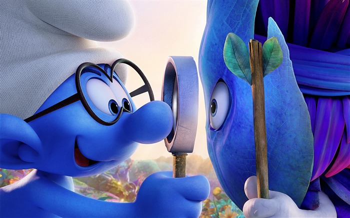 Smurfs The Lost Village 2017 Película HD Fondos de pantalla Vistas:13121