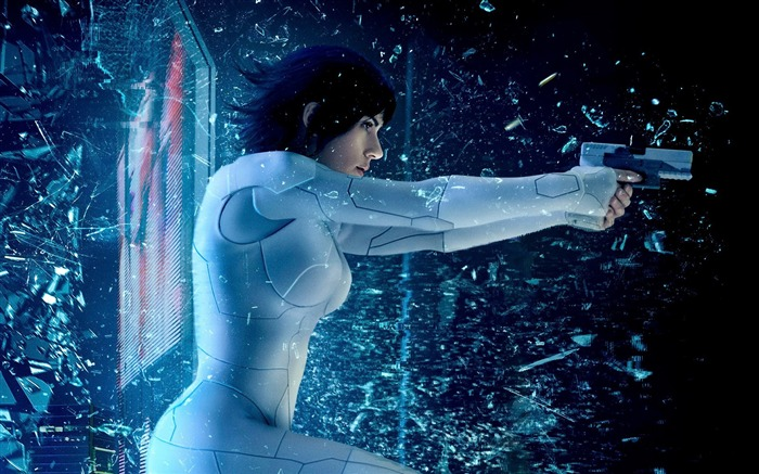 Ghost in the Shell 2017 Scarlett Johansson Wallpaper Views:17295