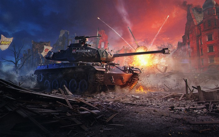 World of tanks new-2017 Game HD Wallpaper Views:585