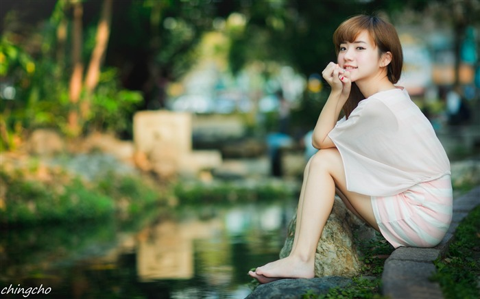 Asian Fashion Beauty Girls Photo Wallpaper Views:1633