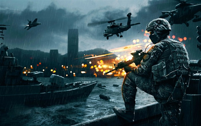 Battlefield 4 game-High Quality Wallpaper Views:1921