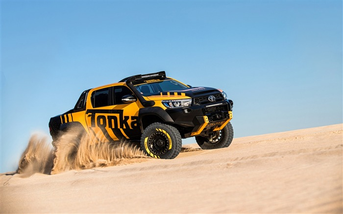 Toyota hilux tonka-High Quality Wallpaper Views:783